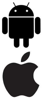 android_apple_logo