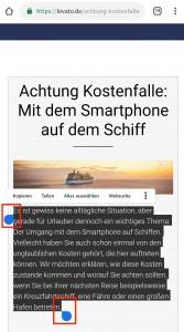 markieren_android