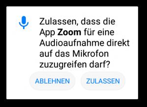zoom-mikrofon