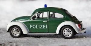 Polizei Modellwagen Original