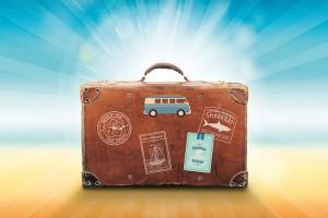 Reisekoffer Sommerurlaub