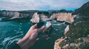 Smartphone Urlaub Panorama