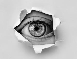 Spionage-Auge