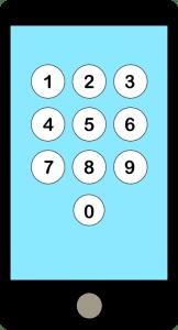 Bildschirmsperre_Zahlen