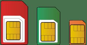 SIM-Kartengrößen