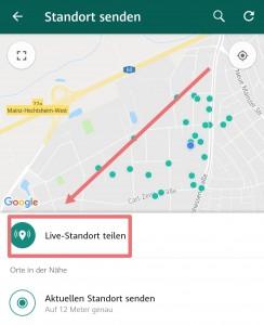 WhatsApp_Standort_teilen